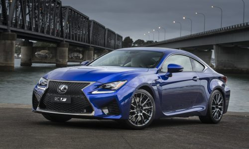 Lexus RC F on sale in Australia in February from $133,500