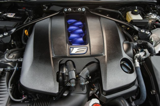 Lexus RC F V8 engine