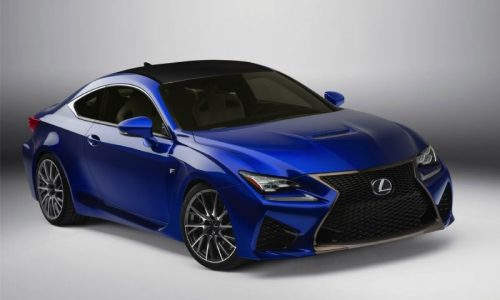 Lexus RC F 5.0 V8 engine specifications outlined
