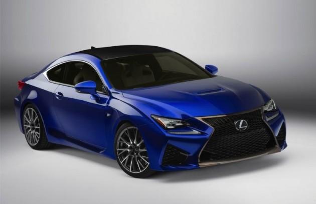 Lexus RC F-blue