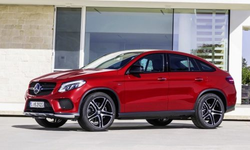Mercedes-Benz GLE Coupe revealed, debuts AMG Sport '450'