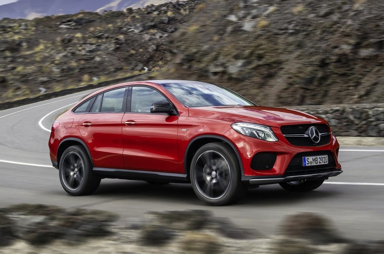 Mercedes-Benz GLE Coupe revealed, debuts AMG Sport '450' - PerformanceDrive