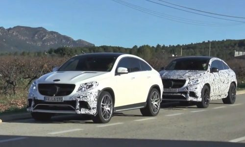 Video: Mercedes-Benz GLE AMG prototype spotted