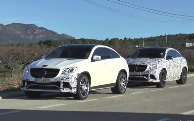 Mercedes-Benz GLE prototypes