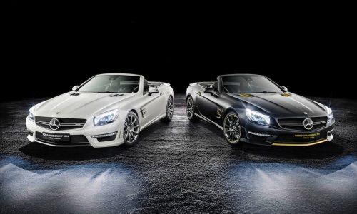 Mercedes-Benz reveals SL 63 AMG World Championship Editions