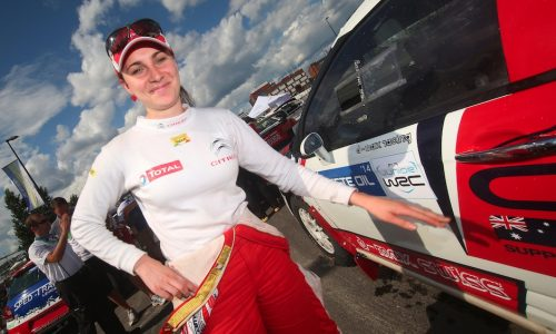 Rallying with Molly Taylor, Australia's next WRC star (video)