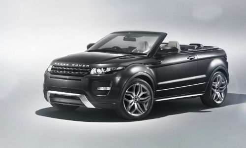 Range Rover Evoque convertible confirmed; prototype spotted