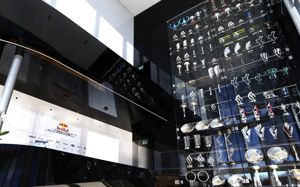 Raiders rob Red Bull F1 team of more than 60 trophies