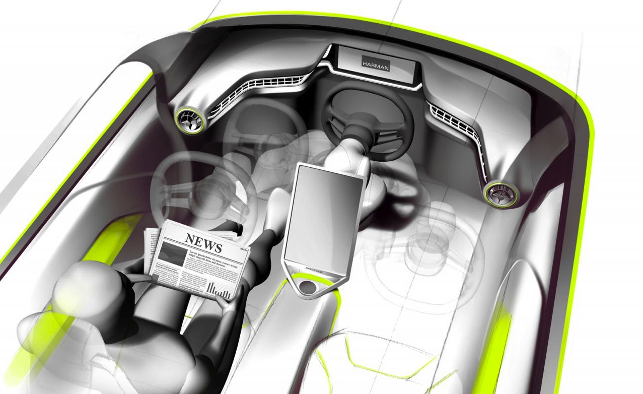 Rinspeed Budii concept can be driven or driverless