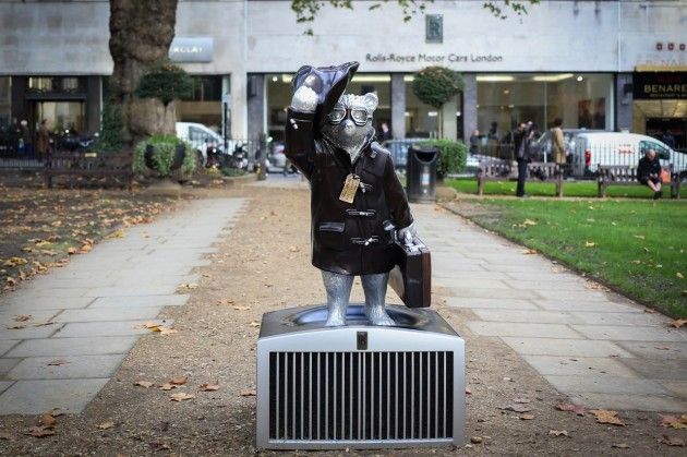 Rolls-Royce Paddington Bear-grille