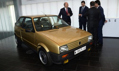 SEAT restores 1986 Ibiza for King Felipe VI of Spain, his first car