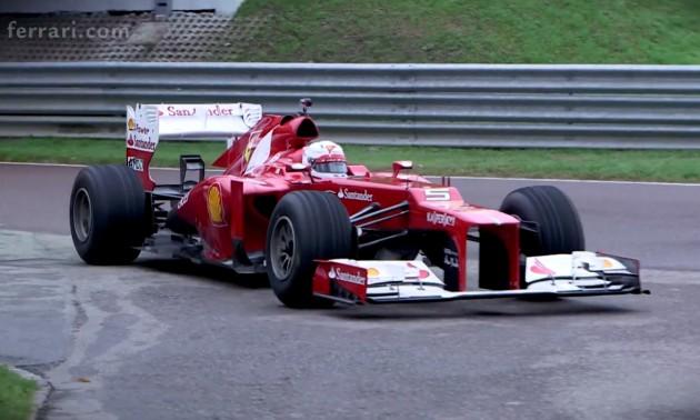 Sebastian Vettel Ferrari F1 debut