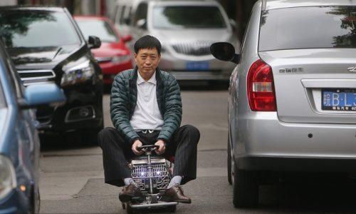 Shanghai man creates miniature car, smallest in the world?