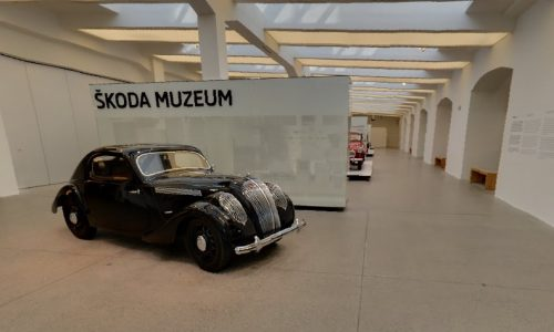 Virtual tours of Skoda Museum now on Google Maps