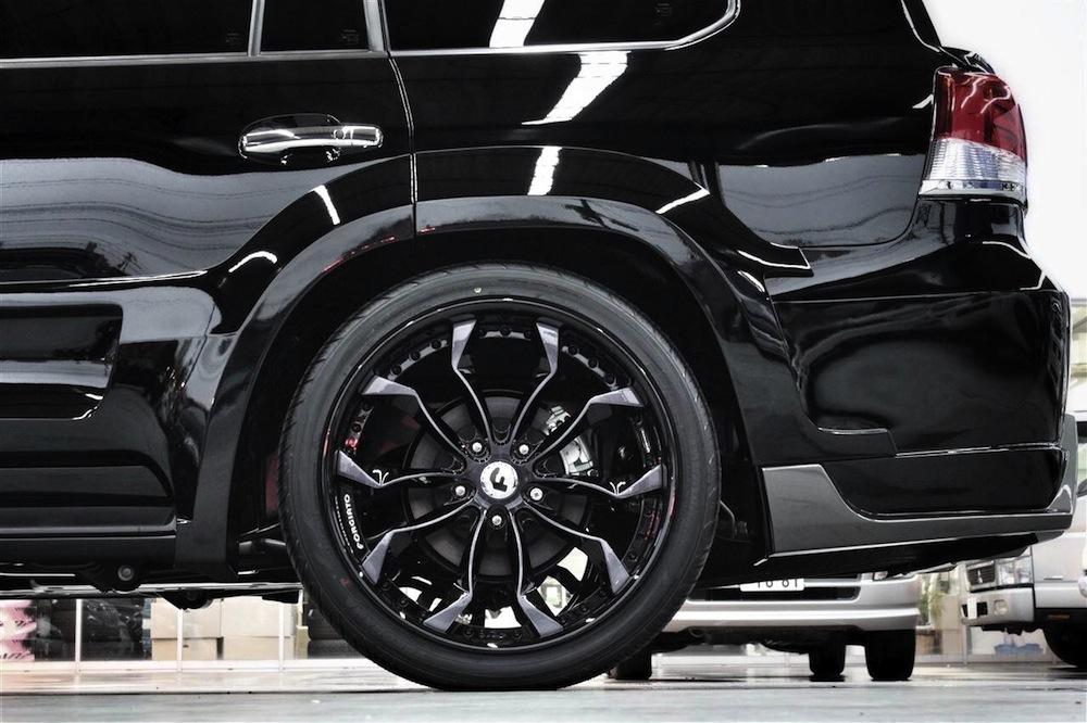 Gmg88 Widebody Toyota Landcruiser Looks Mean Video