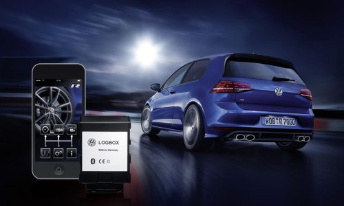 LogBox and Race App announced for Volkswagen Golf R (video)
