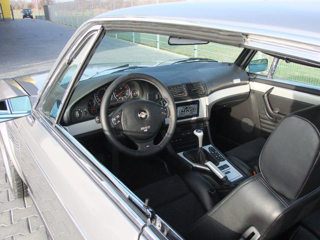 1970s BMW E9 CS gets an E39 M5 V8 conversion ...