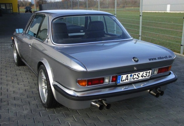 1970s BMW E9 CS M5 V8-rear