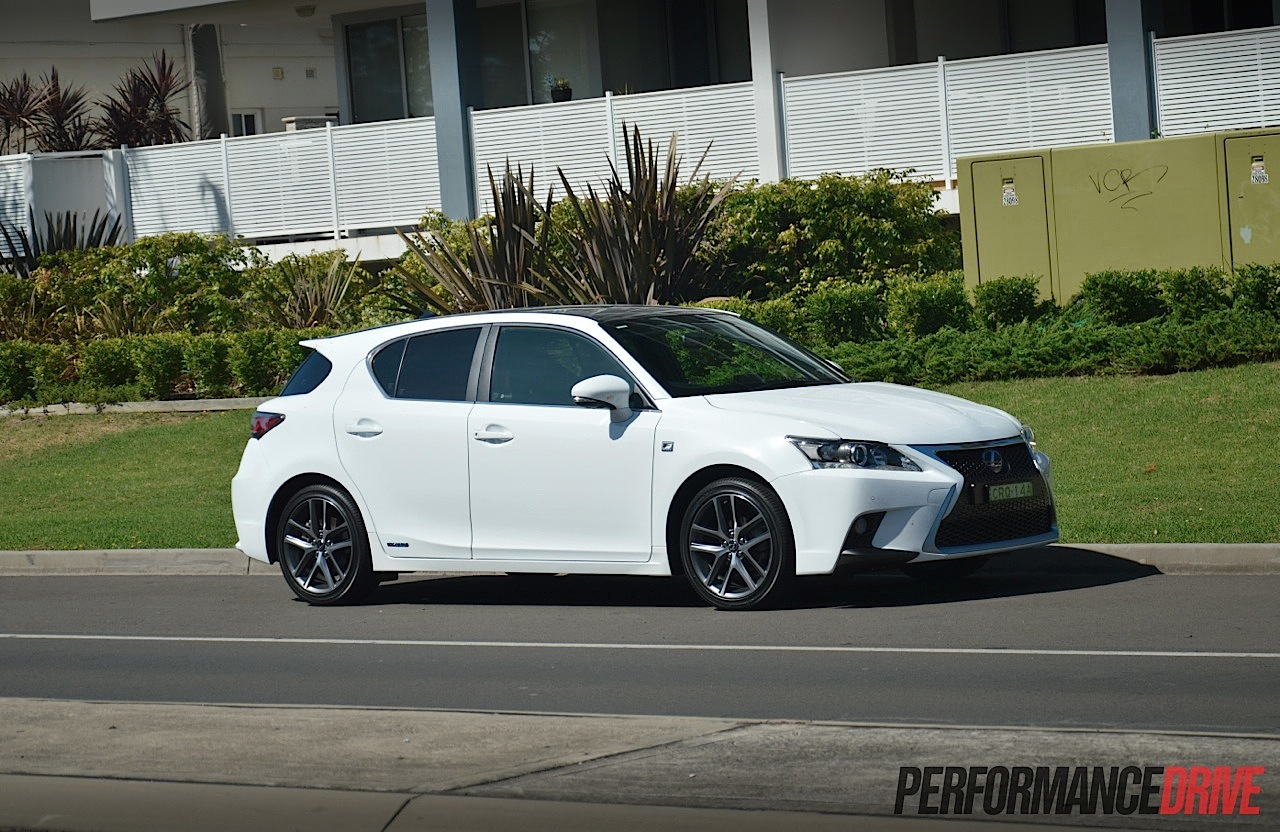 Lexus CT 200h F Sport review (video) | PerformanceDrive