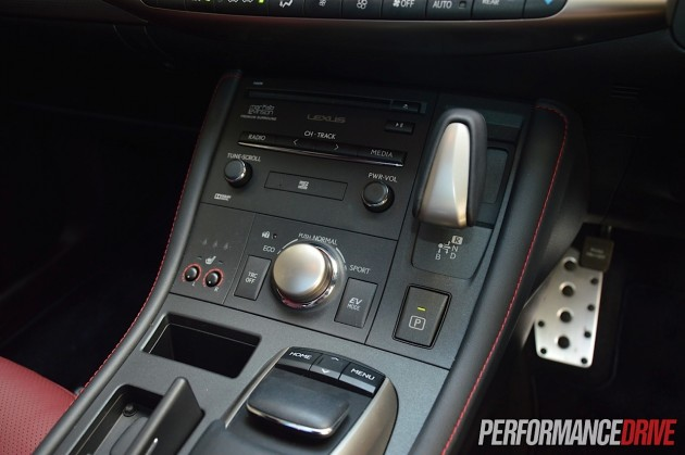 2014 Lexus CT 200h F Sport-Remote Touch