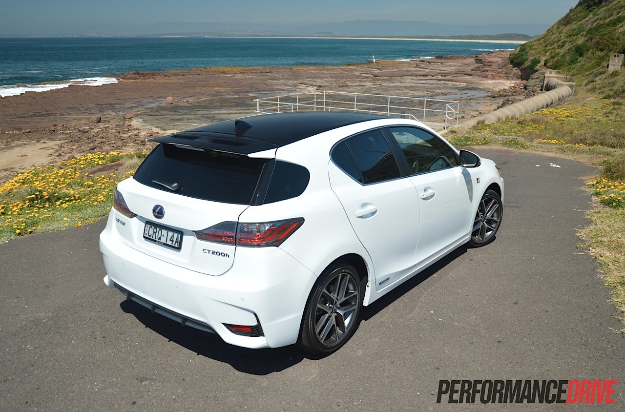 Lexus Ct 200h F Sport Review Video Performancedrive