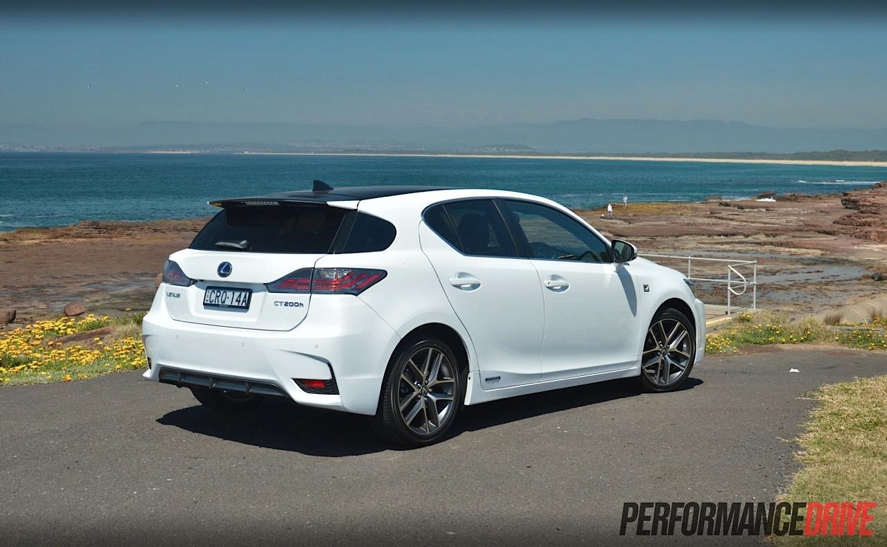 Lexus Ct200H F Sport >> Lexus CT 200h F Sport review (video) | PerformanceDrive