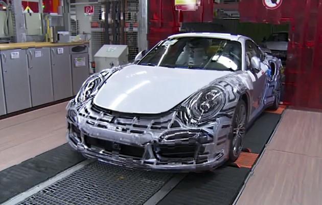 2014 Porsche 911 GT3 testing