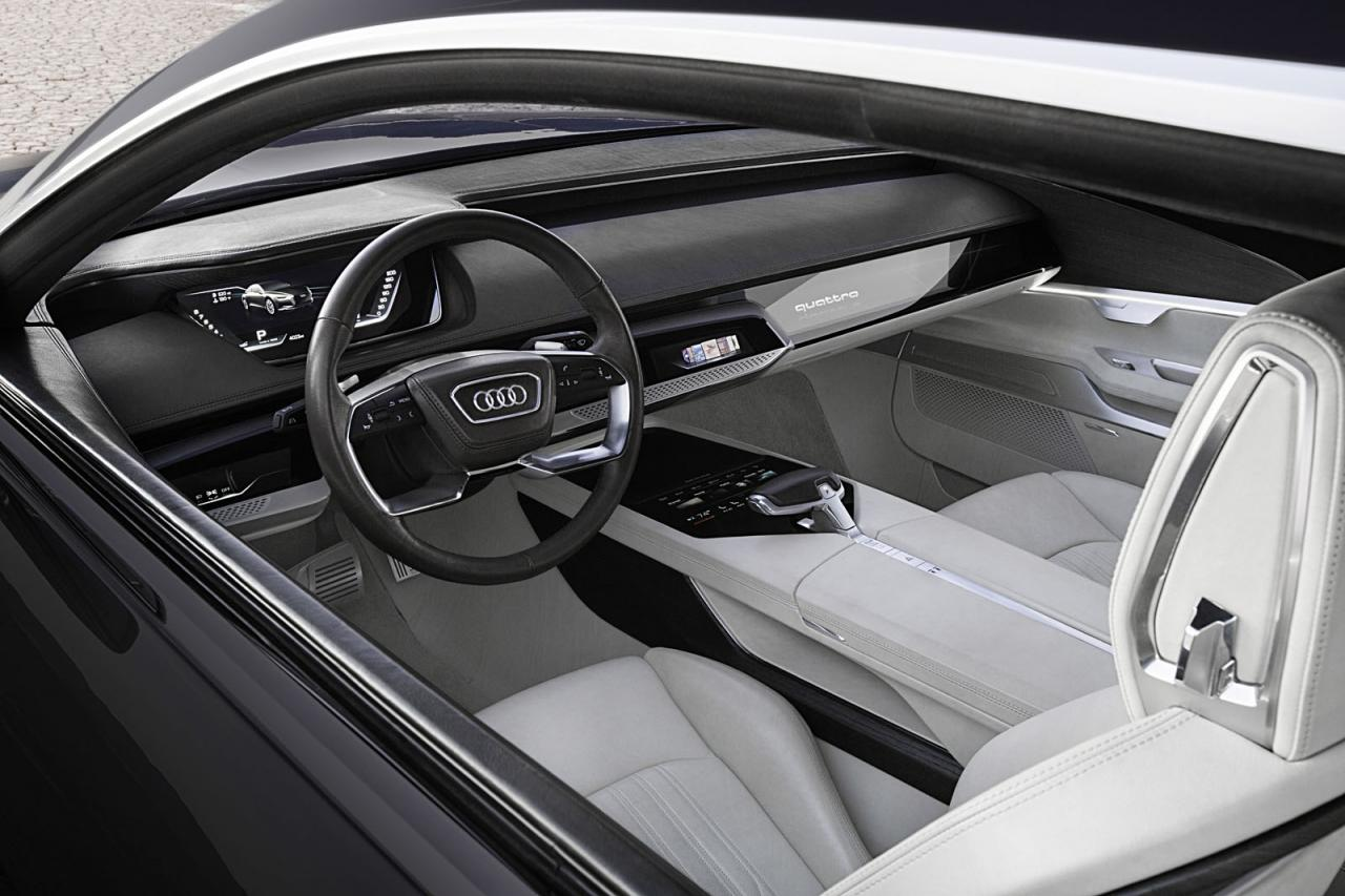 Audi Prologue piloted driving concept revealed, previews ...