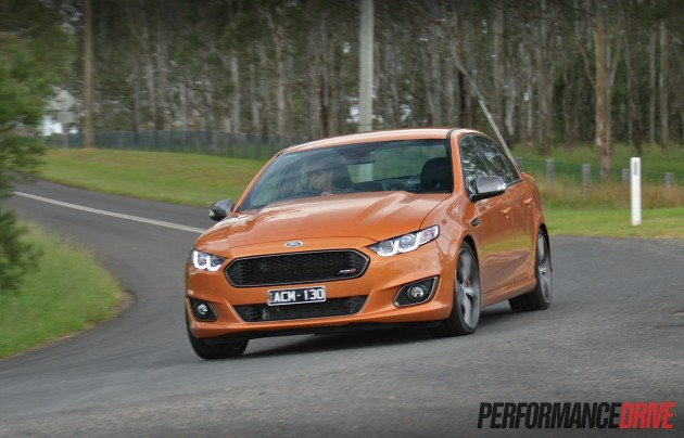 2015 Ford Falcon XR8-handling