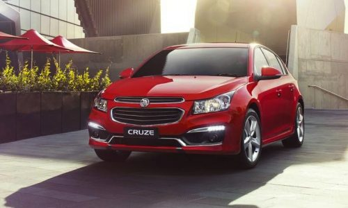New-look 2015 Holden Cruze on sale in Australia from $19,890