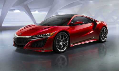 2015 Honda NSX production version unveiled