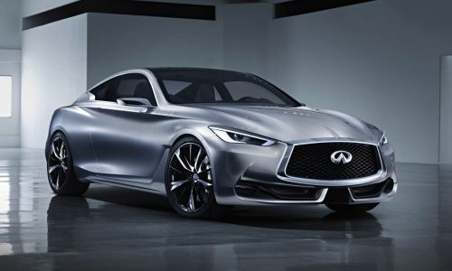 Infiniti Q60 Concept previews new sports coupe