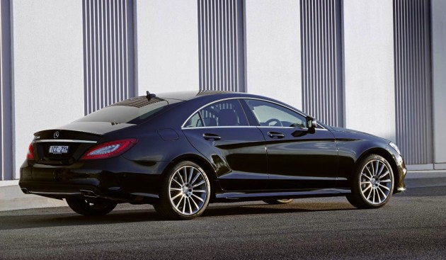 2015 Mercedes-Benz CLS 500-rear