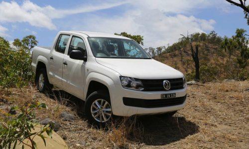 2015 Volkswagen Amarok on sale in Australia from $36,990