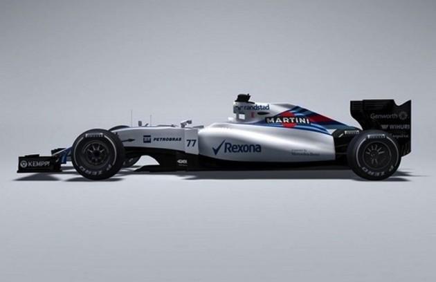 2015 Williams F1 car