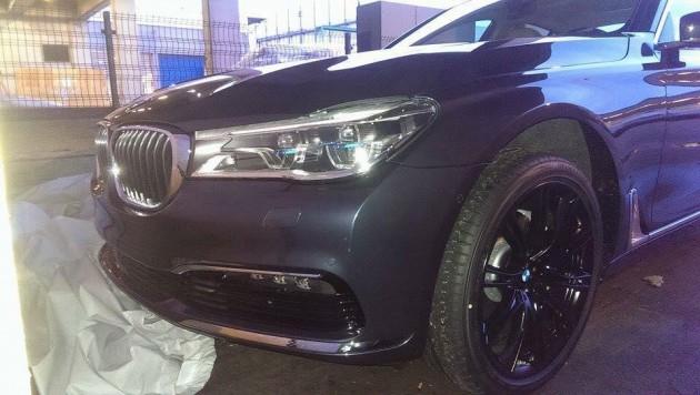 2016 BMW 7 Series prototype-front