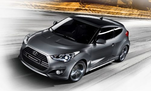 2015 Hyundai Veloster Turbo gains 7spd DCT, updated styling