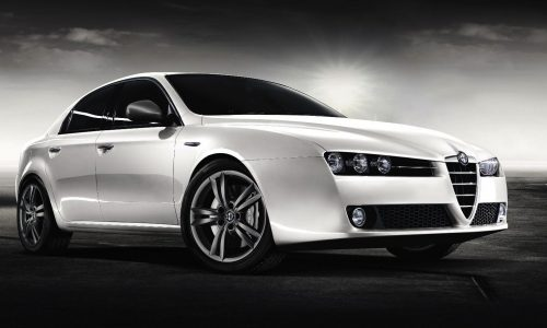 Upcoming Alfa Romeo mid-size sedan; name still undecided