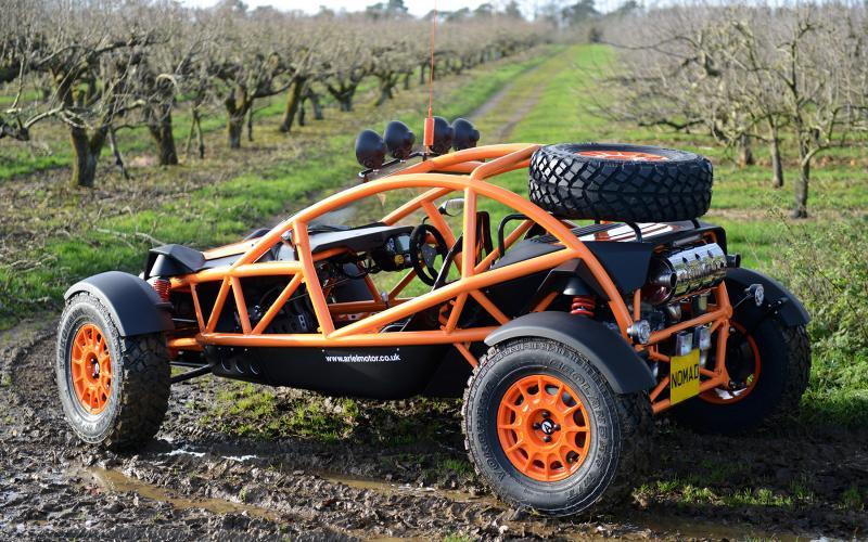 Ariel Nomad Revealed Insane Dirt Racer That Can Be Road