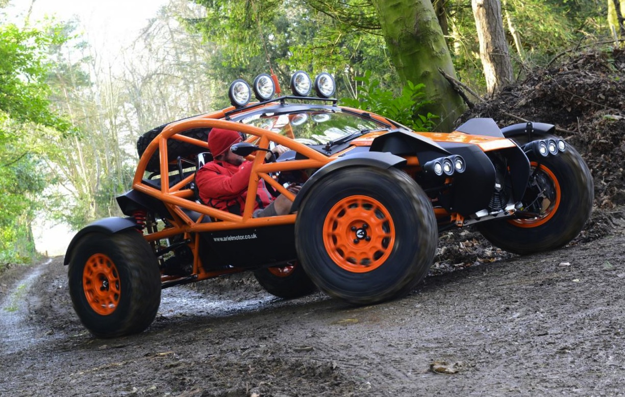 Ariel Nomad revealed; insane dirt racer that can be road legal