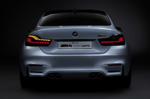 BMW M4 Concept Iconic Lights-OLED taillights