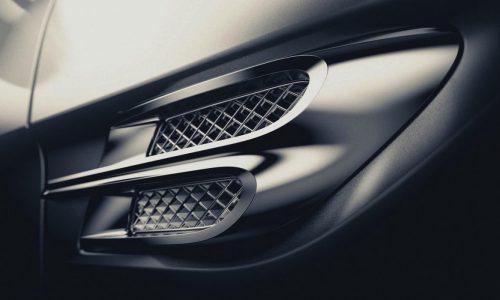 Bentley Bentayga name confirmed for flagship SUV (video)