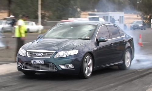 Video: 551kW Ford FG Falcon G6E is one tough sleeper