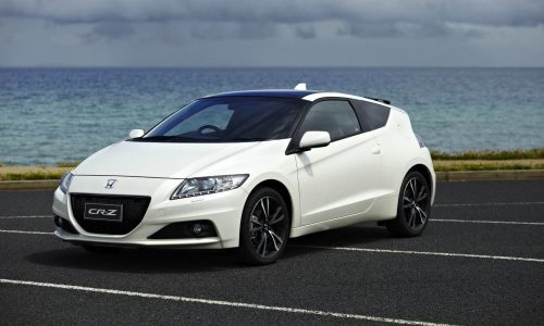 Honda CR-Z dropped from Australian lineup