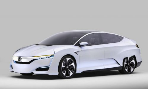 Honda FCV Concept unveiled, almost production ready