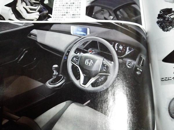 Honda S660 interior-brochure