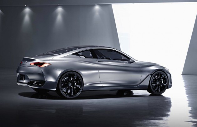 Infiniti Q60 Concept-rear