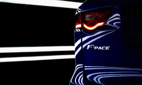 Jaguar F-PACE confirmed as production C-X17 SUV