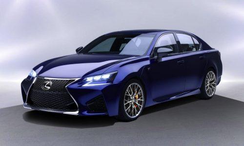 Lexus GS F revealed before Detroit show debut