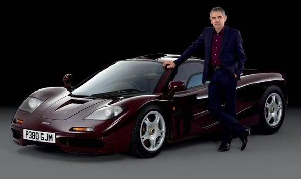 McLaren F1-Rowan Atkinson